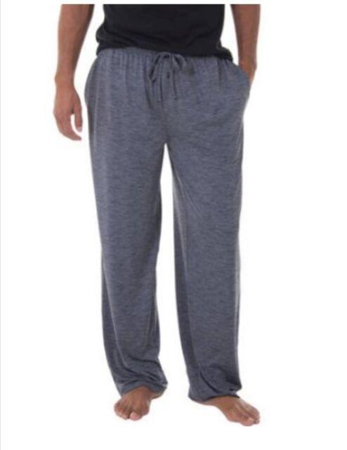 Fruit of the Loom Mens Lounge Sleep Pajama Pants Beyond Soft Size M 32-34  Gray