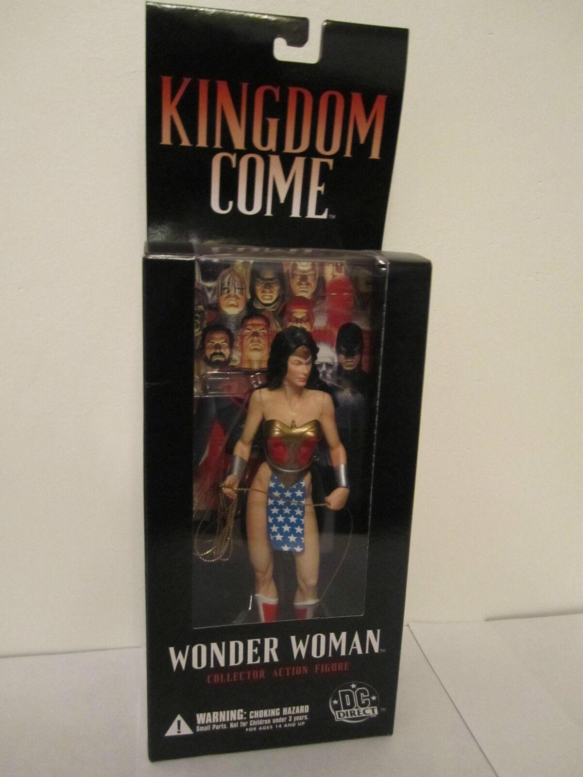 Kingdom Come-Wonder Woman-DC Direct-Action Figure-Alex Ross