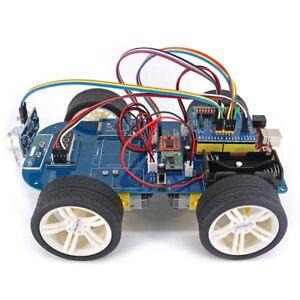 Smart Car Kits >> Details About 4wd Bluetooth Control Smart Car Kit For Arduino Uno R3 Nano Mega2560 De