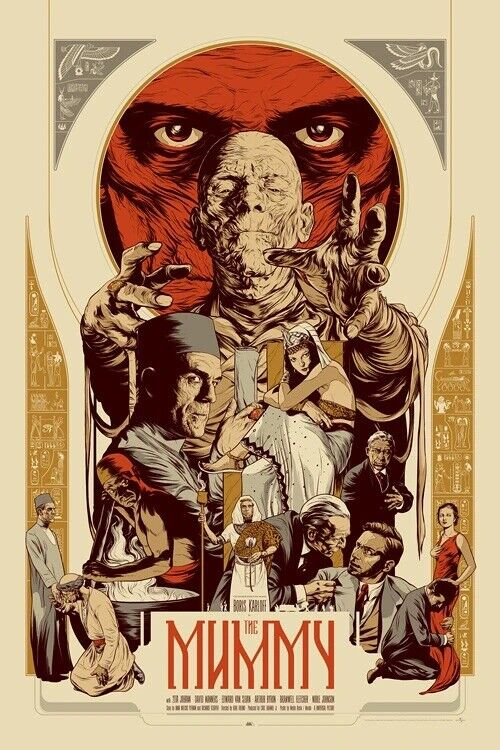 Mondo Martin Ansin The Mummy poster print Universal signed on eBay thumbnail