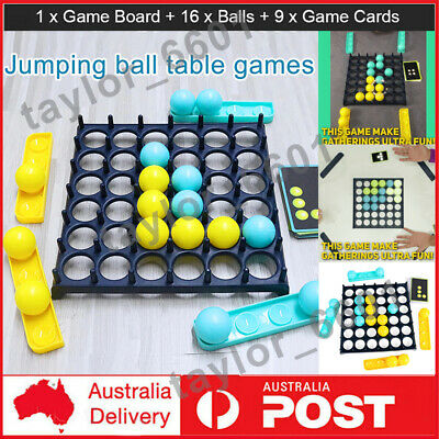 Details about  Bounce Off Game Activate Ball Game Kids Family Party Desktop Bouncing Toys Xmas