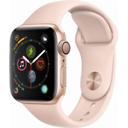 Apple Watch Series 4 GPS 40mm Gold Case with Pink Sand Sport Band MU682LL/A