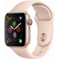 Deals on Apple Watch Series 4 GPS 40mm Gold Case Open Box