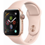 Apple-Watch-Series-4-GPS-40mm-Gold-Case-with-Pink-Sand-Sport-Band-MU682LL-A thumbnail 1