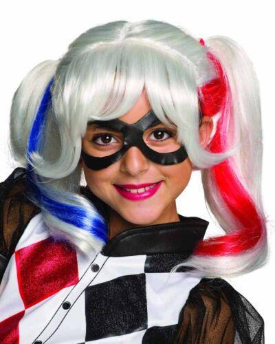 Dc Super Hero Girls Harley Quinn Girls Wig One Size