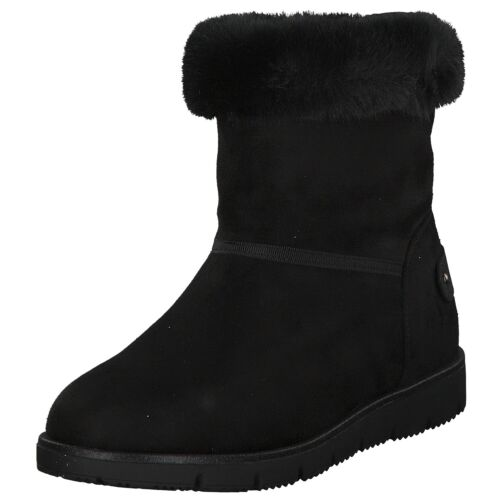 Tom Tailor Damen Stiefel Stiefeletten Boots 7993105 Schwarz Black Neu