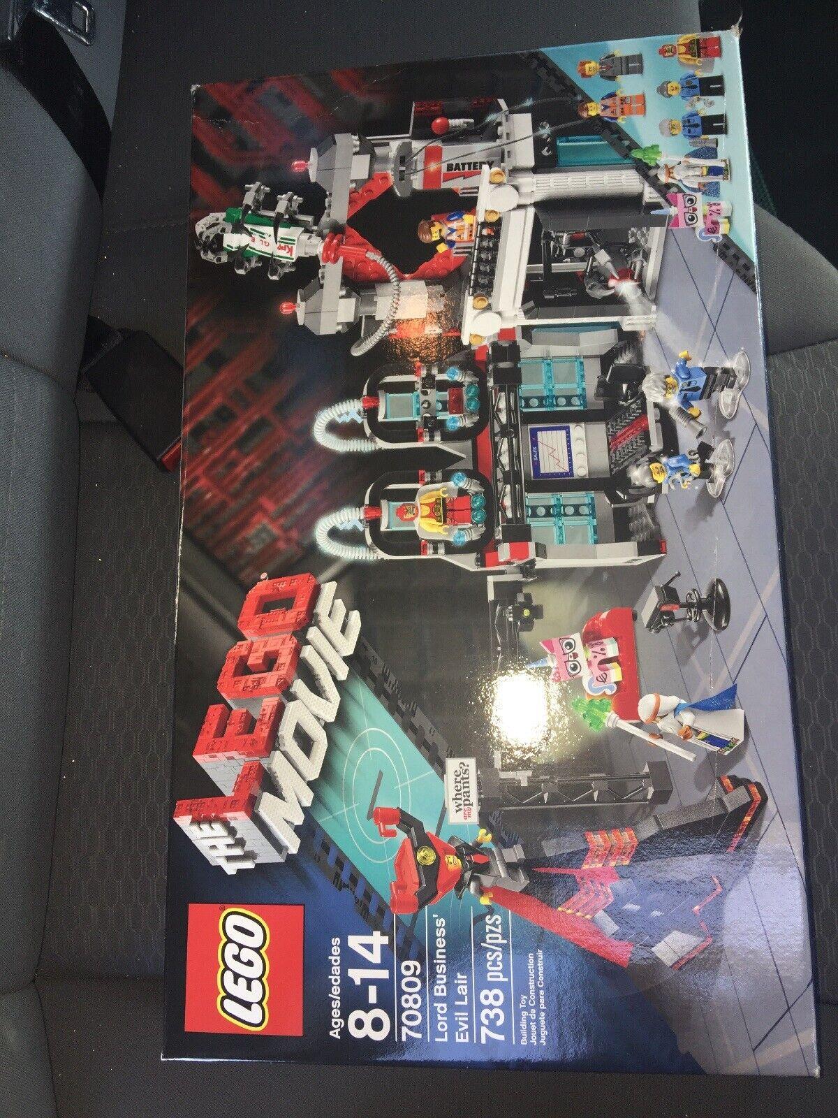 LEGO  70809 Lord autobusiness' Evil Lair  nuovo Sealed Retirosso 2014 The Lego Movie  per il tuo stile di gioco ai prezzi più bassi