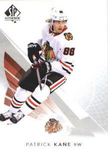 2017-18 SP Authentic #75 Patrick Kane Chicago Blackhawks NHL Upper Deck Hockey C