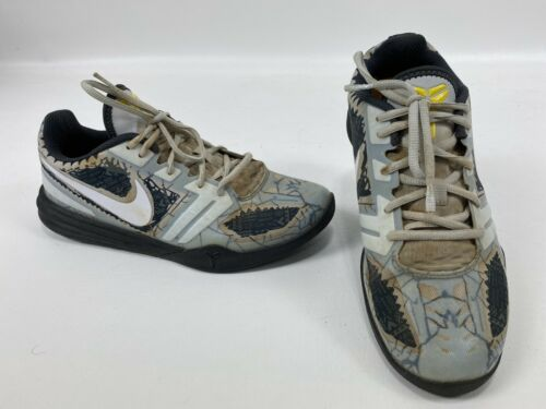 Nike Kobe Mentality Cracked Pavement Grey Black Me