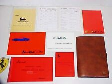 Ferrari Dino 246 Owners Manual_Leather Pouch_Warranty_Spare Parts Book_Directory