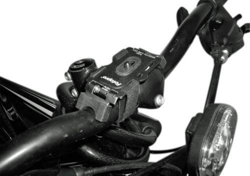 Fotopro acción de montaje para las cámaras digitales-nuevo casco de Bicicleta Manillar Patineta