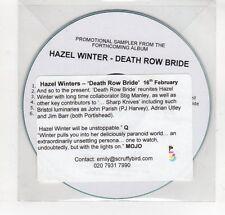(GN908) Hazel Winters, Death Row Bride - 2004 DJ CD
