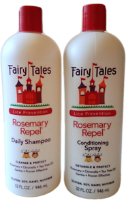 Fairy Tales Rosemary Repel Shampoo Leave In Conditioning Spray 32 Oz Each Ebay