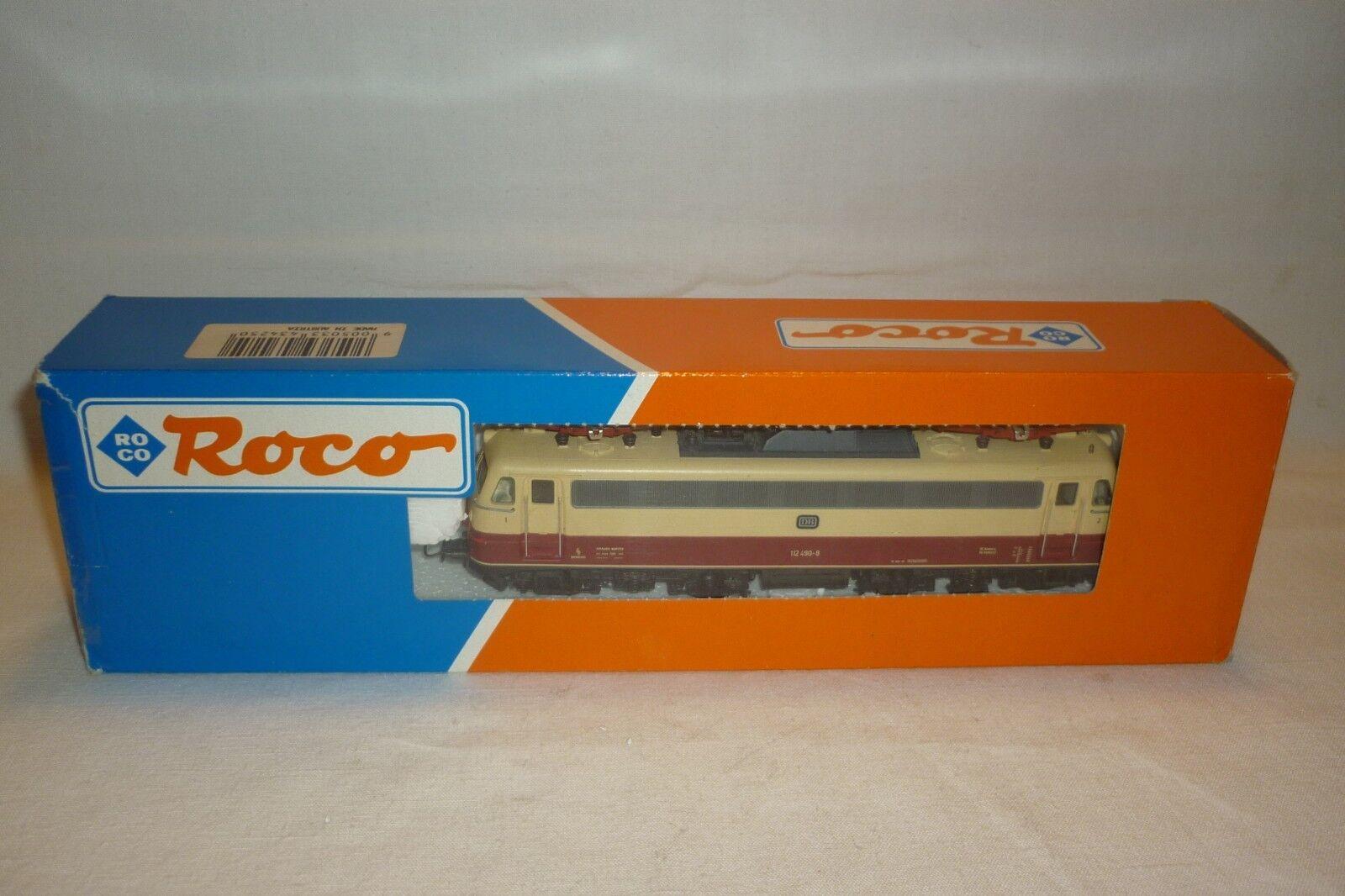 Roco - Escala H0-43425 - Locomotora Eléctrica Db 112 490-8 Emb.orig (8.ei-110)