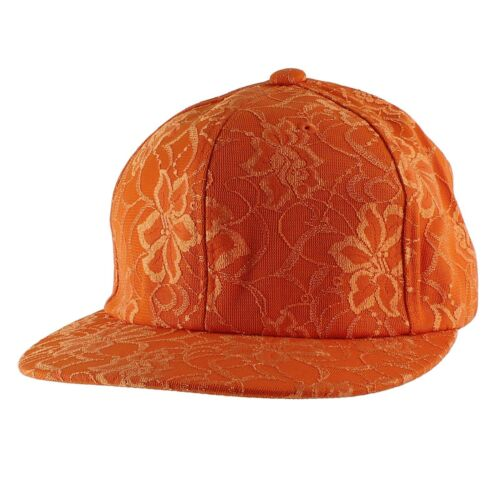 Lace Flower Snapback Hip-hop New Era Trucker Flat Bill Baseball Cap Men Women
