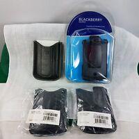 Group Blackberry Curve Holster Plus 3 Blackberry 8300 In-box Pocket Cases