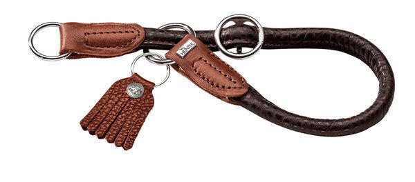 Hunter Dressurhalsung Cody 50 10, d-brown