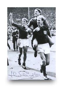 Jack-Charlton-Signed-6x4-Photo-England-Leeds-United-Autograph-Memorabilia-COA