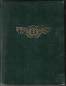Racing History of the Bentley 1921-31 Brooklands Circuits Drivers Records 1st ed