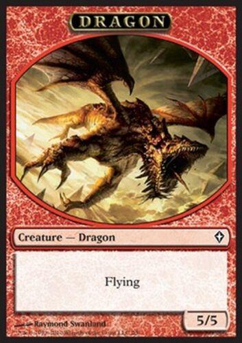 MRM FRENCH Token Jeton Dragon flying vol 5//5 MTG magic WWK