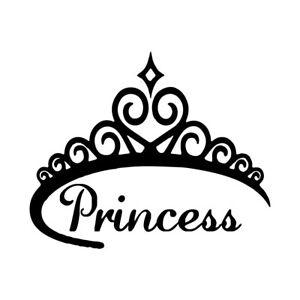PRINCESS INSIDE Vinyl Decal Royal sticker cute girl funny
