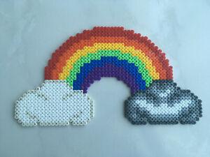 Pixel Art Perles A Repasser Petit Arc En Ciel Ebay