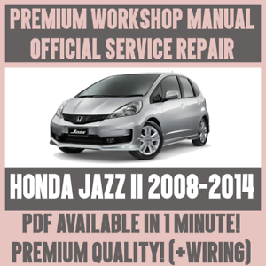 Service pdf fit honda manual