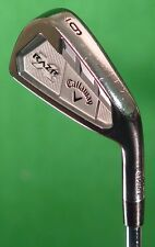 Callaway RAZR X Forged Single 6 Iron Flighted Rifle Project X 5.5 Steel Firm