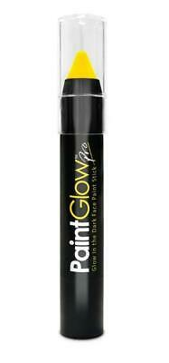 Romantisch Gelbes Gesicht Paint Stick Paint Glow Festival Party Body