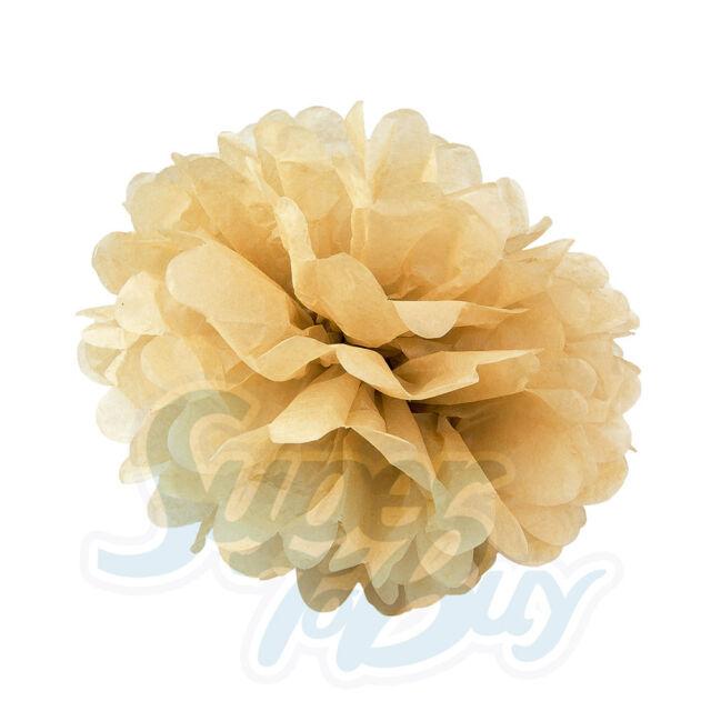 "10 pack Paper Tissue Pom Poms 8/"" 10/"" 12/"" 14/"" 16/"" Wedding Party Flower pcs"
