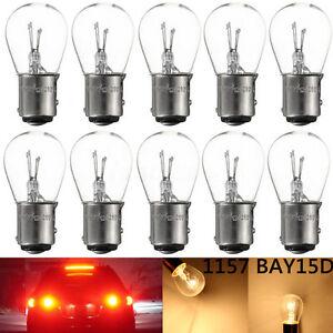 10x-1157-BAY15D-21-5W-Halogene-Ampoule-Position-Feux-Arriere-Stop-Feu-Frein-Bulb