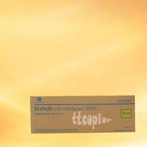 Konica-Minolta Genuine IUP14Y Yellow Imaging Unit for Bizhub C25 C35 C35P A0WG08G