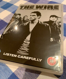 THE-WIRE-COMPLETE-SERIES-1-DVD-Box-Set-1st-First-Season-Like-New-VGC-5-Discs