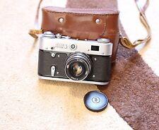 FED-3 (russian LEICA) HQ USSR film camera export v70s EX++