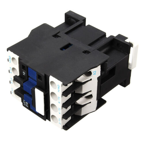 Power AC Contactor 1NO AC 220V 50//60Hz Coil Motor Starter Relay 32A 3-Phase-Pole