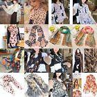 Hot Sale Women's Chiffon Soft Scarves Long Wraps Shawl Beach Silk Scarf Colors