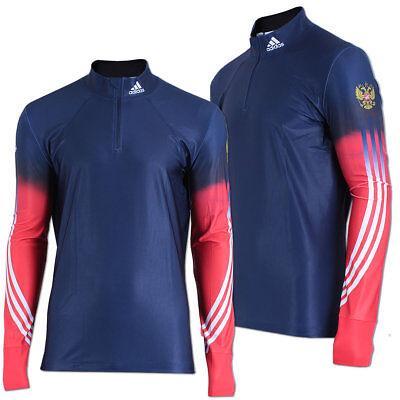 adidas Herren XC Race Langarm Running Shirt Russland