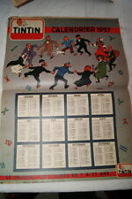 TINTIN JOURNAL NUMERO SPECIAL N°51-1956 CALENDRIER HERGE EDITION BELGE