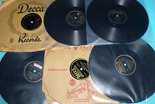 """Dick Haymes 6X10"""" 78 Lot on Decca WHAT DID I DO, YOU CAN'T BE TRUE, DEAR"""