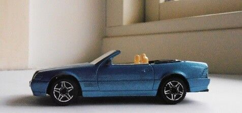Modelbil, Bburago Mercedes Benz 300 SL , skala 1/43