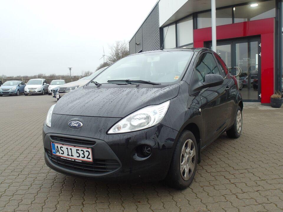 Ford Ka 1,2 Trend+ Benzin modelår 2015 km 74000 Sort ABS True