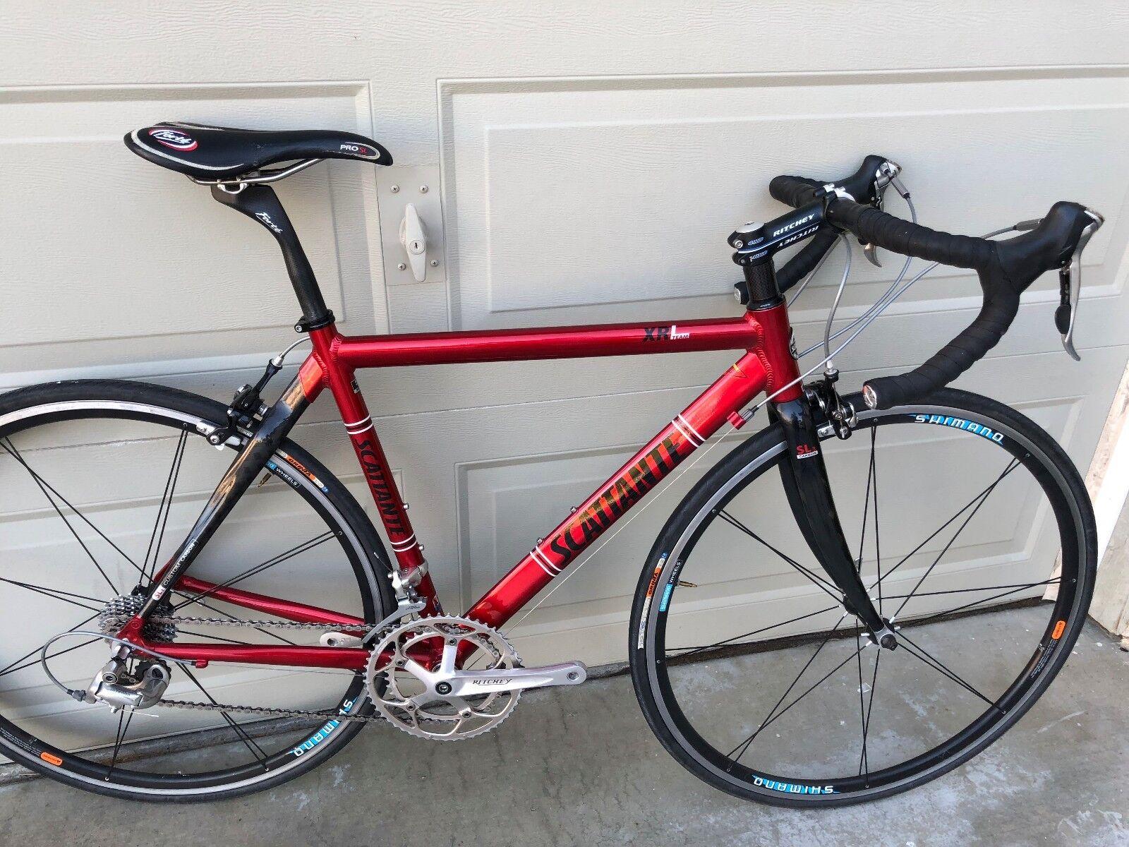 51 CM Scattante Team XRL Carbon Aluminum Shimano Ultegra 18 speed road bike