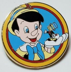 """Disney's Best Friend"" Pinocchio & Jiminy (#90184) Released May 2012 Mystery Pin"