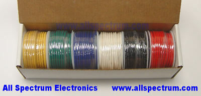 100/' Spools XLPVC 300 Volts 22AWG 1 Red 1Green 2 Stranded Hookup Wire 22 AWG