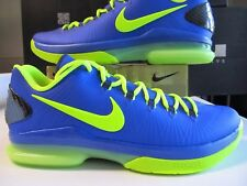 Men's Nike KD Kevin Durant V 5 Elite Serie Basketball Shoes Blue Volt 585386 400