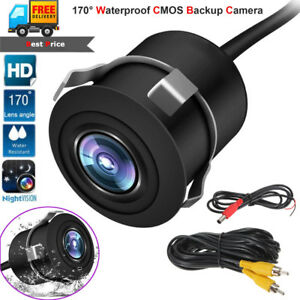 Useful 12v 170° Cmos Waterproof Auto Reversing View Parking Backup Hd Camera Kit White Always Buy Good Car & Truck Parts