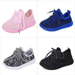 Toddler Baby Boys Girls Sports Soft Soled Shoes Flats Running Sneaker Mesh Shoes