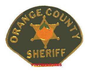 CA Sheriffs Depart. Sheriff Police Mini Badge Patch Lapel Pin Sacramento County