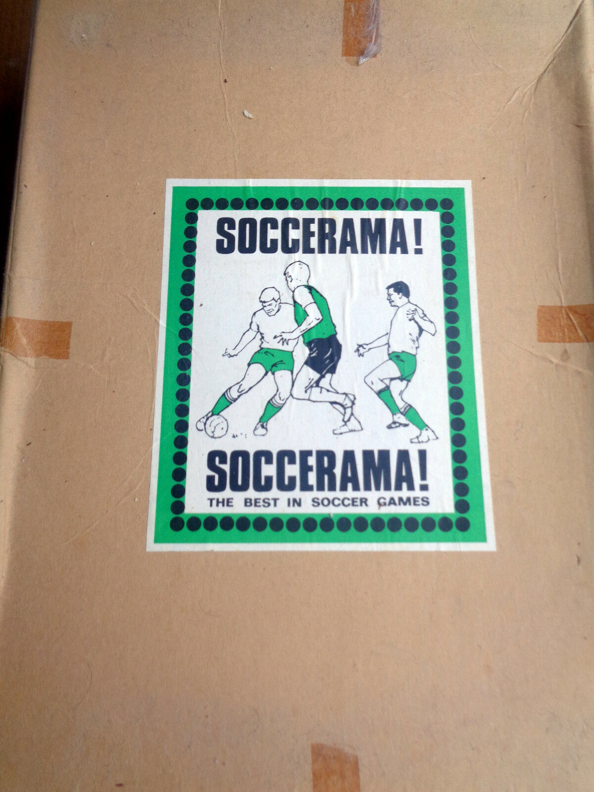 Rare Soccerama Predotype edition 1960s one of only a few known to exist