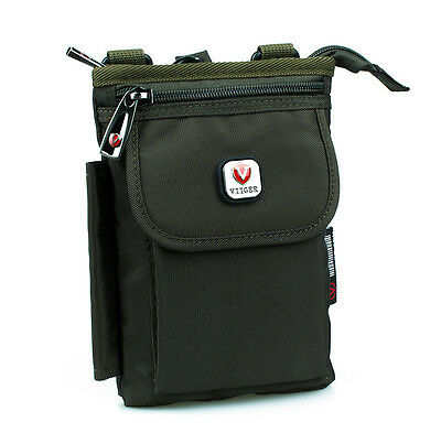 Nylon Mens Waist Bag Fanny Pack Phone Pouch Pocket Case with Shoulder Strap Bags